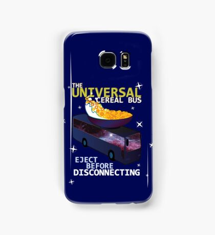 Universal Cereal Bus Samsung Galaxy Case/Skin