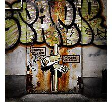 Graffiti in Berlin Photographic Print