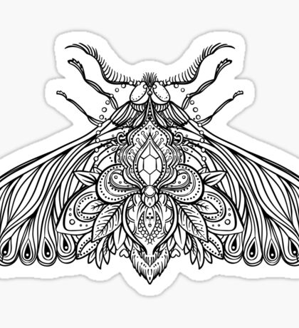 Night Moth Sticker