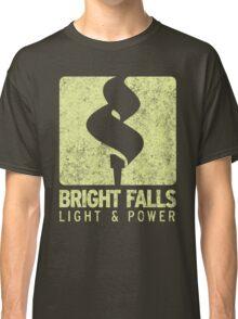 Bright Falls Light & Power (Alt.) (Grunge) Classic T-Shirt