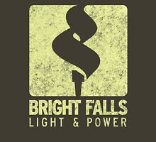 Bright Falls Light & Power (Alt.) (Grunge) Unisex T-Shirt
