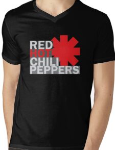 RHCP2 Mens V-Neck T-Shirt