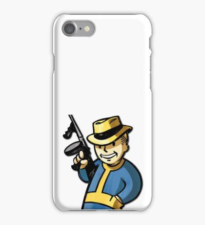 Fallout Vault Boy Mobster iPhone Case/Skin