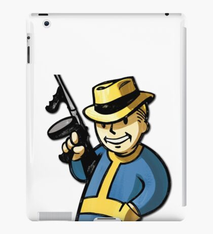 Fallout Vault Boy Mobster iPad Case/Skin