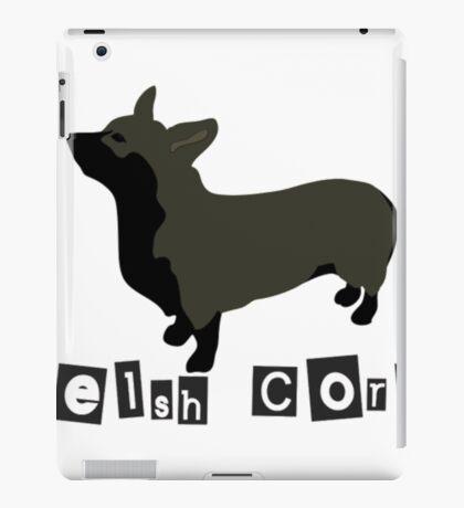 Welsh Corgi Funny Corgi Shirts iPad Case/Skin