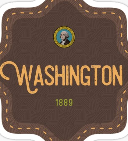 Washington Badge Sticker