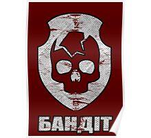 STALKER - Bandit Faction Patch Poster