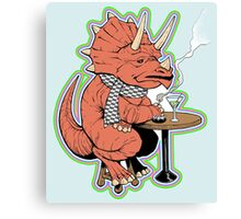 Ty the Triceratops LGBT Dinos! Canvas Print
