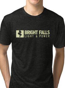 Bright Falls Light & Power Tri-blend T-Shirt