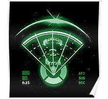 Alien Tracking Poster