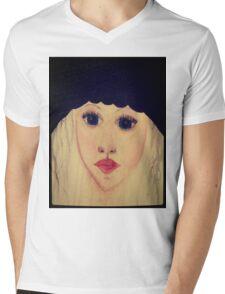 That's her Mens V-Neck T-Shirt