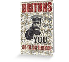 Join the Lost Generation Greeting Card