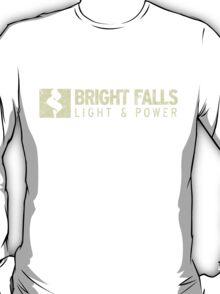 Bright Falls Light & Power (Grunge) T-Shirt