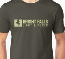 Bright Falls Light & Power (Grunge) Unisex T-Shirt