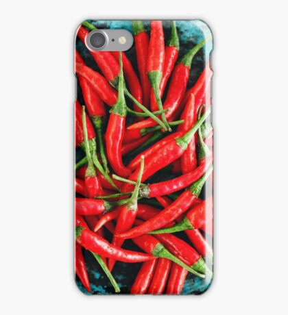 Red Chili Peppers iPhone Case/Skin