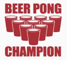 Beer Pong Champion by imjesuschrist