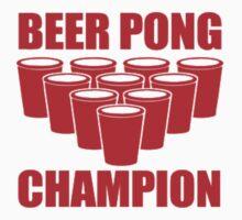 Beer Pong Champion by imjesuschrist
