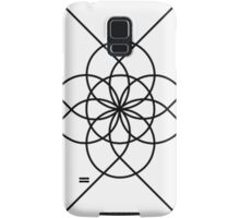 The Geometry of Tangent Curves and Circles Samsung Galaxy Case/Skin