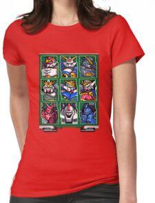 Gundam Wing Mecha Select Womens Fitted T-Shirt