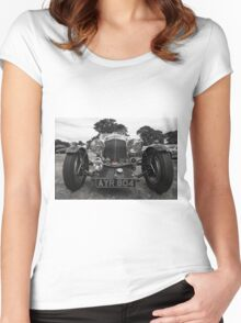 Aston Martin Roadster  Women's Fitted Scoop T-Shirt