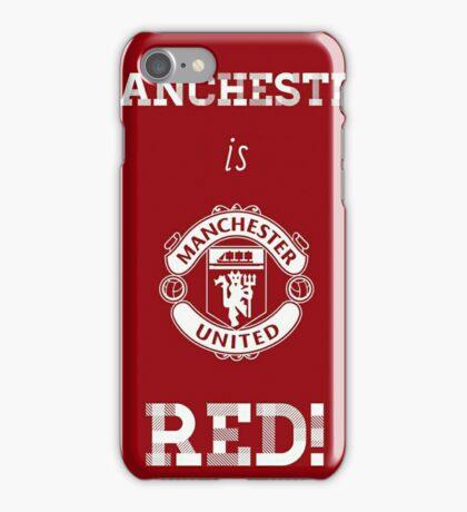 Manchester United FC iPhone Case/Skin