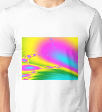 Candy Lane Fractal Unisex T-Shirt