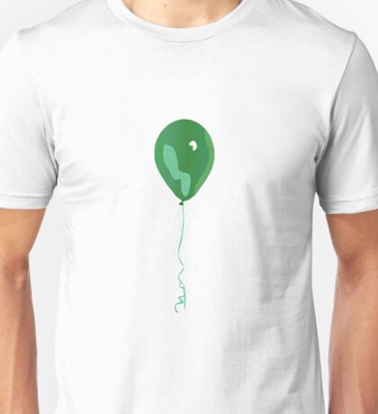 Green Balloon, Graphic Design Unisex T-Shirt