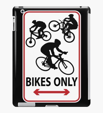 Bikes Only iPad Case/Skin