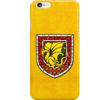 Stained Glass Pendragon Crest iPhone Case/Skin