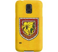 Stained Glass Pendragon Crest Samsung Galaxy Case/Skin