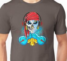 Dueling Fiddles; Skulling Series Unisex T-Shirt