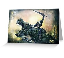 Age of Extinction Greeting Card