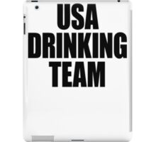 USA Drinking Team [Black] iPad Case/Skin
