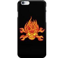 Flaming Headache; Skulling Series iPhone Case/Skin