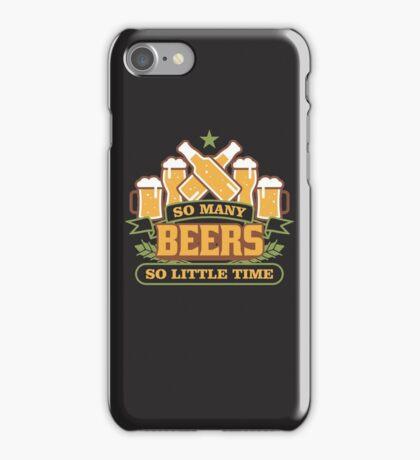 Beer T-shirt iPhone Case/Skin