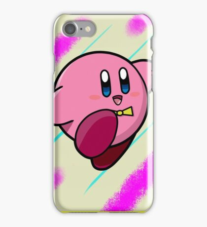 Colorful Kirby! iPhone Case/Skin