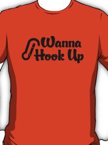 Rock Climbing Wanna Hook UP T-Shirt