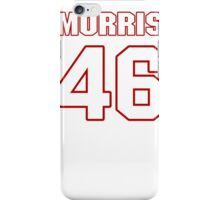 NFL Player Alfred Morris fortysix 46 iPhone Case/Skin