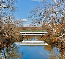 Westport Covered Bridge by Kenneth Keifer
