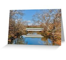 Westport Covered Bridge Greeting Card