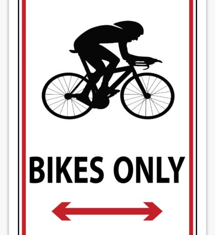 Time Trial Only Sticker