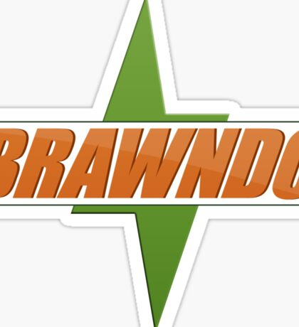 BRAWNDO Logo Sticker