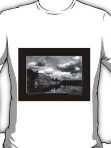 Dells Cloud Monochrome Art Posters T-Shirt