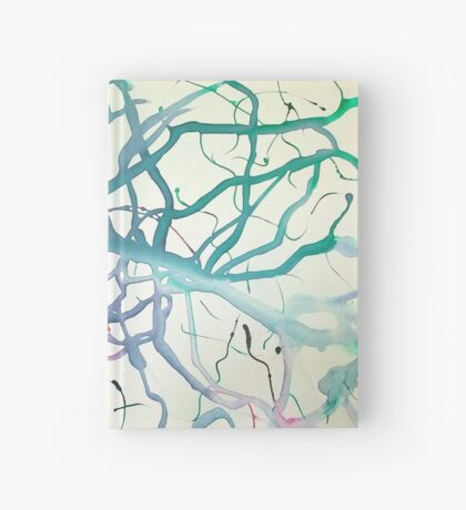 Flowing Abstract 8 Hardcover Journal