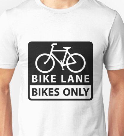 Bike Lane Unisex T-Shirt