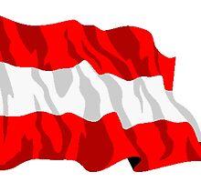 Austria Flag by kwg2200