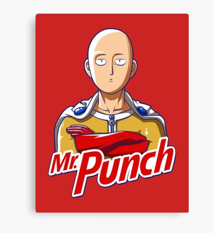 Mr. Punch Canvas Print