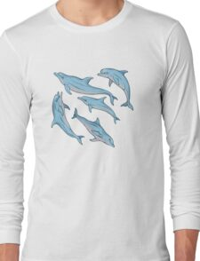 A story about dolphins Long Sleeve T-Shirt