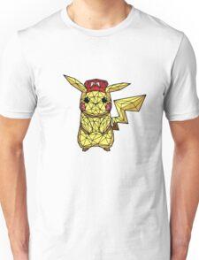 Geometric Pikachu Unisex T-Shirt