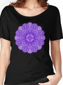 Lavender Star Mandala Women's Relaxed Fit T-Shirt